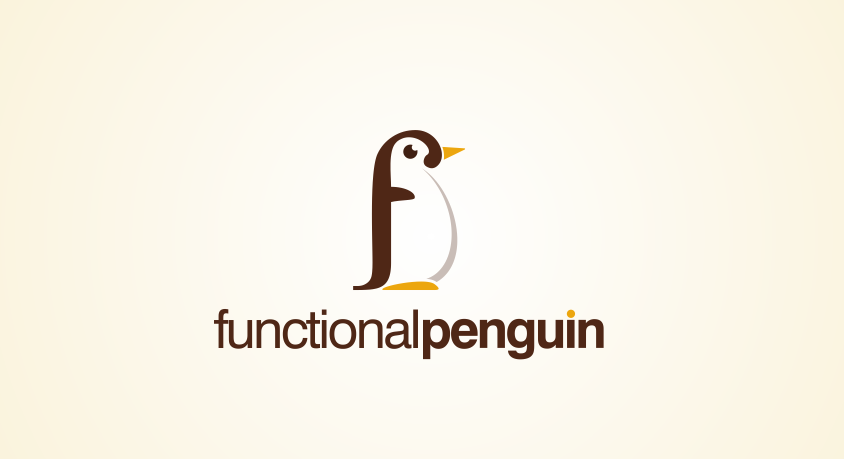 Winning logo design entry for Functional Penguin