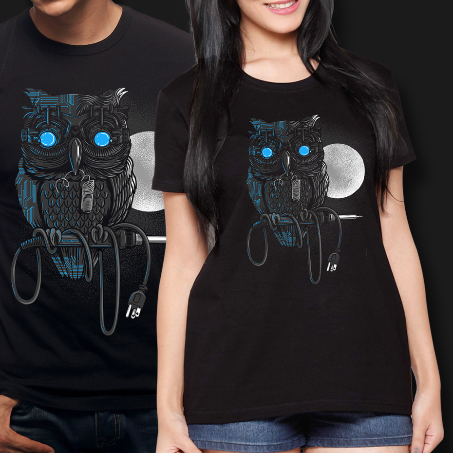 Owl t shirt design
