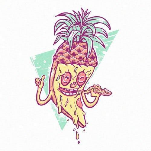 Pizza t shirt design