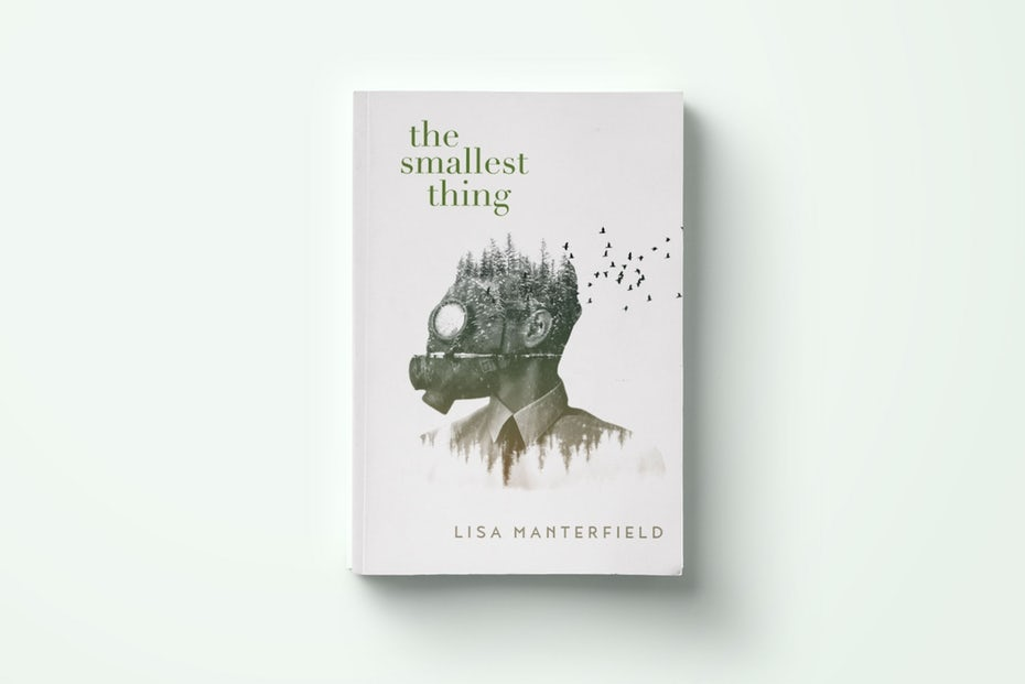 The smallest thing book cover design