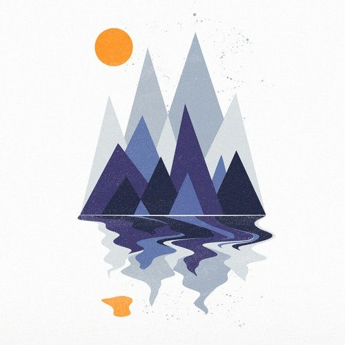 Mountain t shirt design