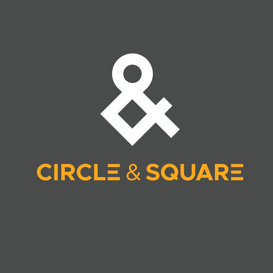 "Geometric ""&"" logo"