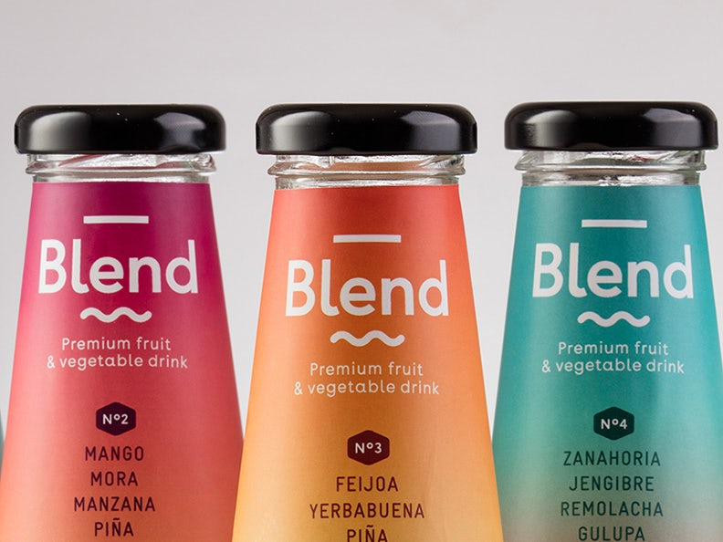 Blend - Premium fruit & vegetable drink