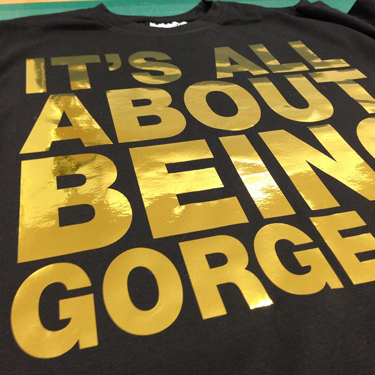 It's all about being gorgeous t shirt design