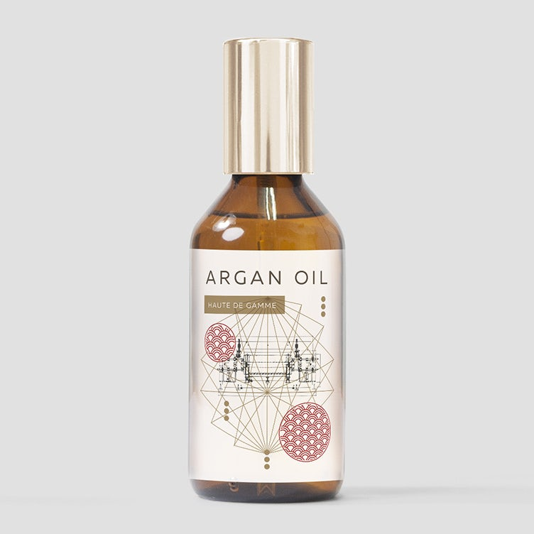 Argan oil label