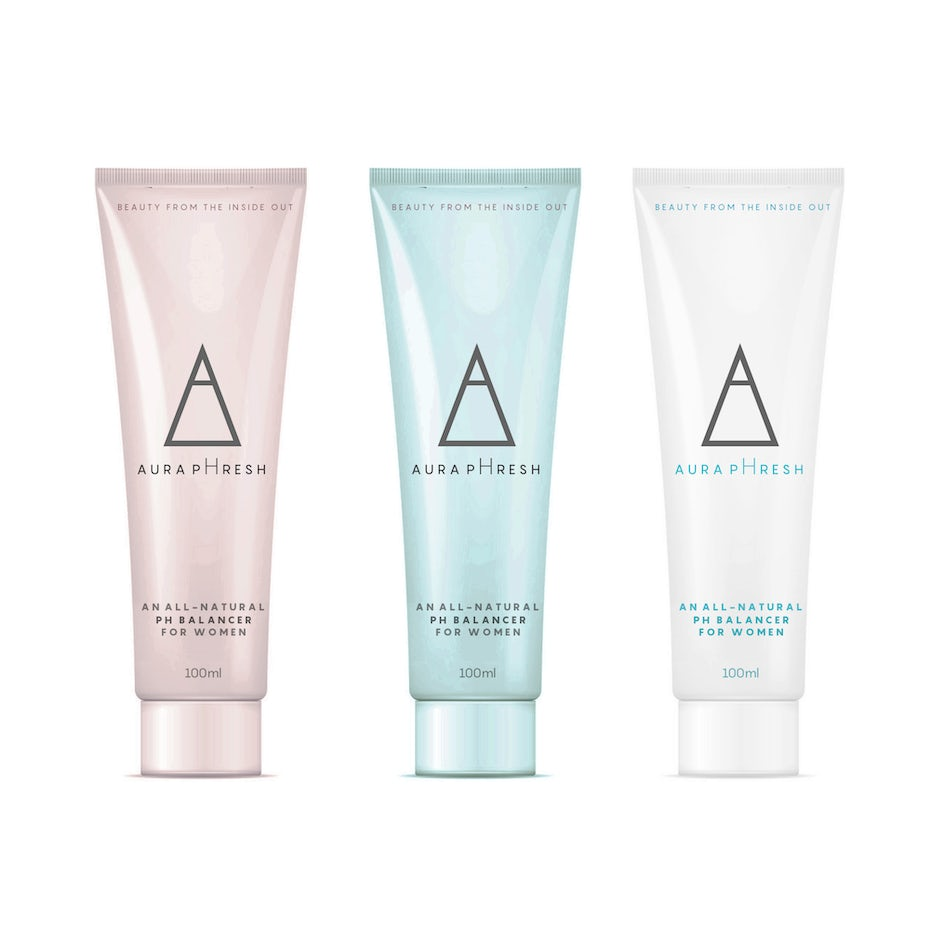 Angular cosmetic packaging