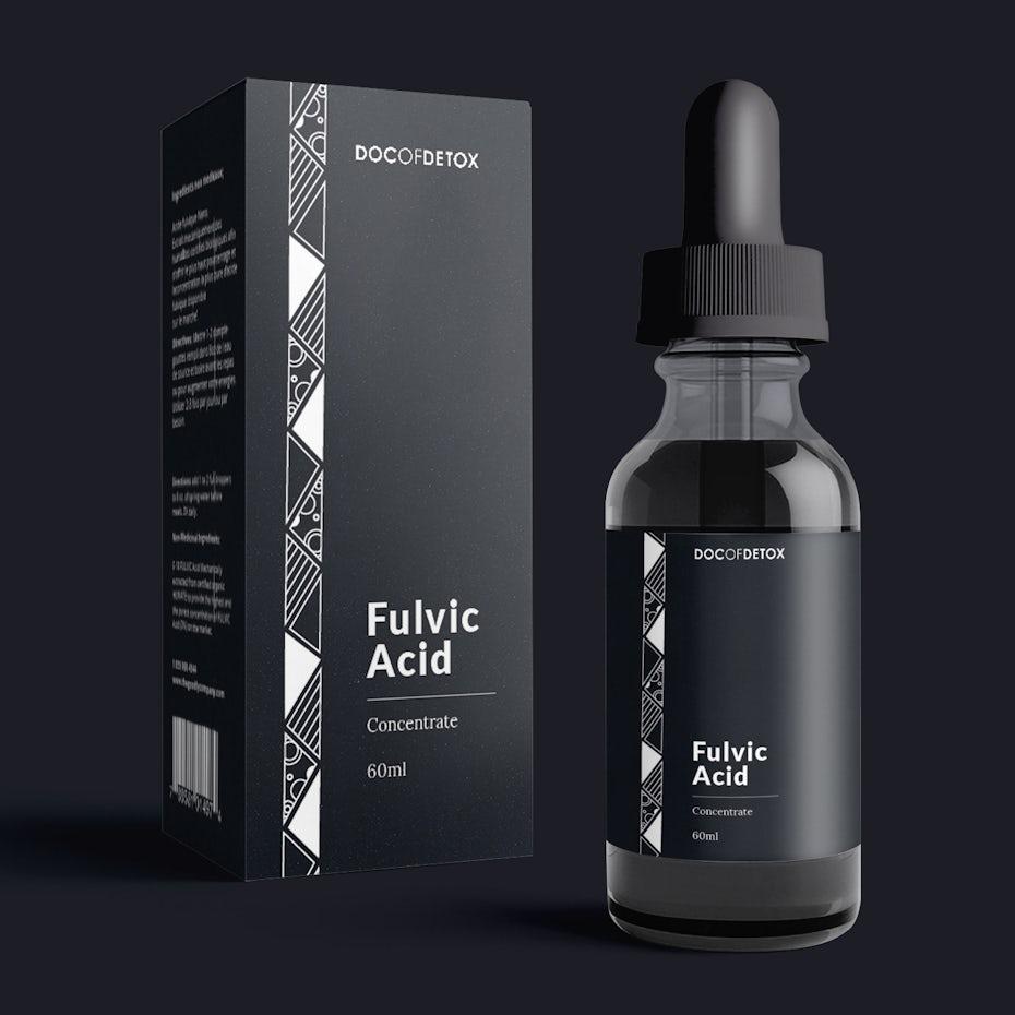 Fulvic acid logo