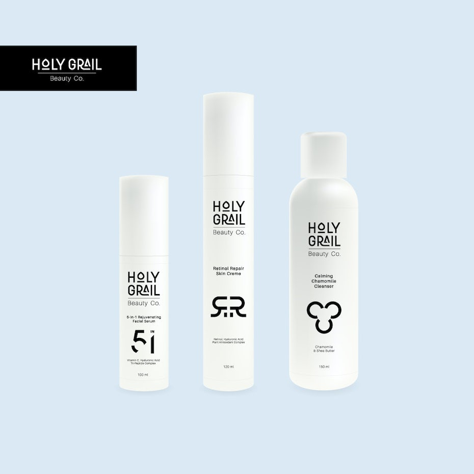 Holy grail cosmetic packaging