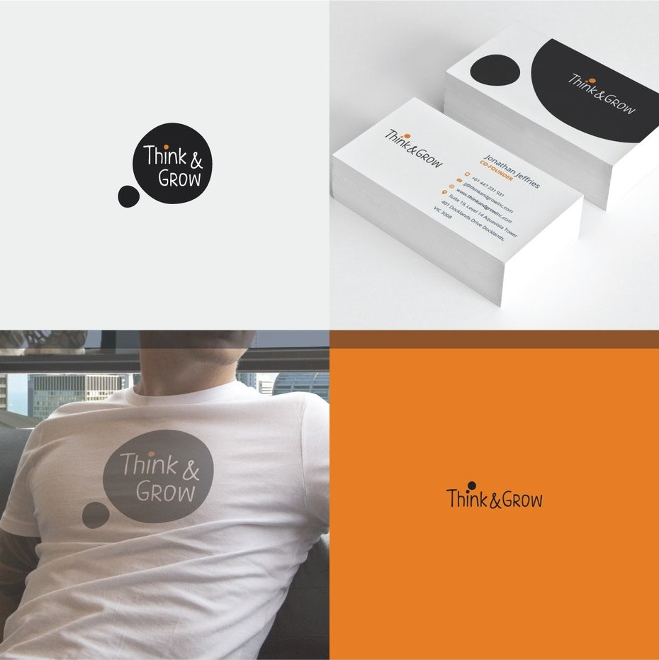 Think and Grow branding