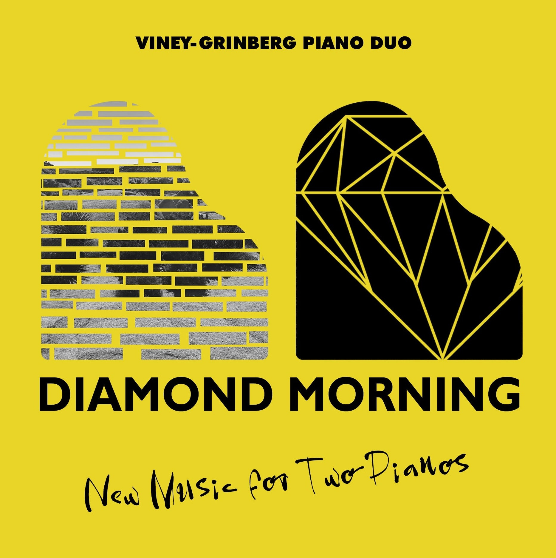 Diamond morning album cover design