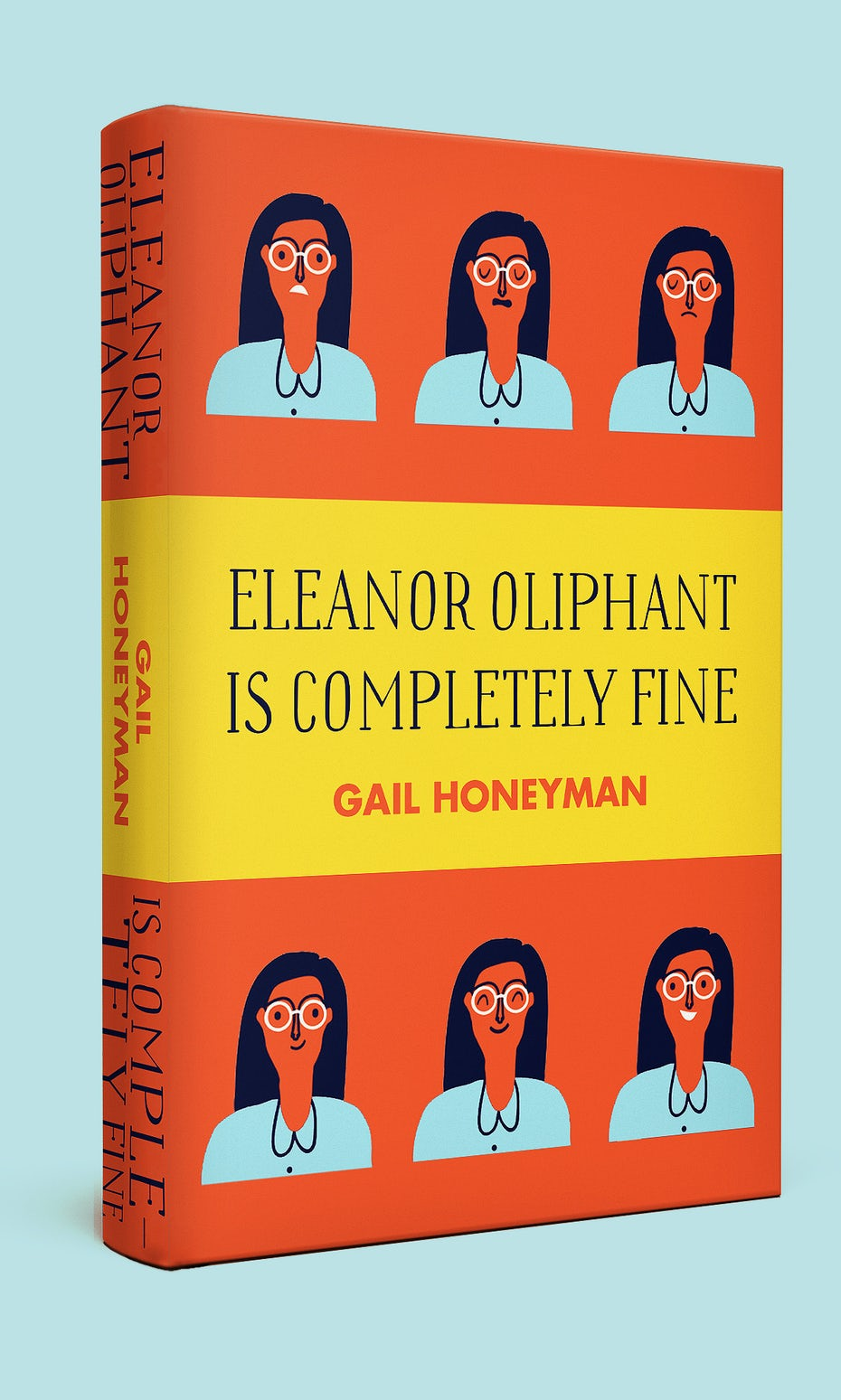 Eleanor Oliphant is Completely Fine Cover Redesigned