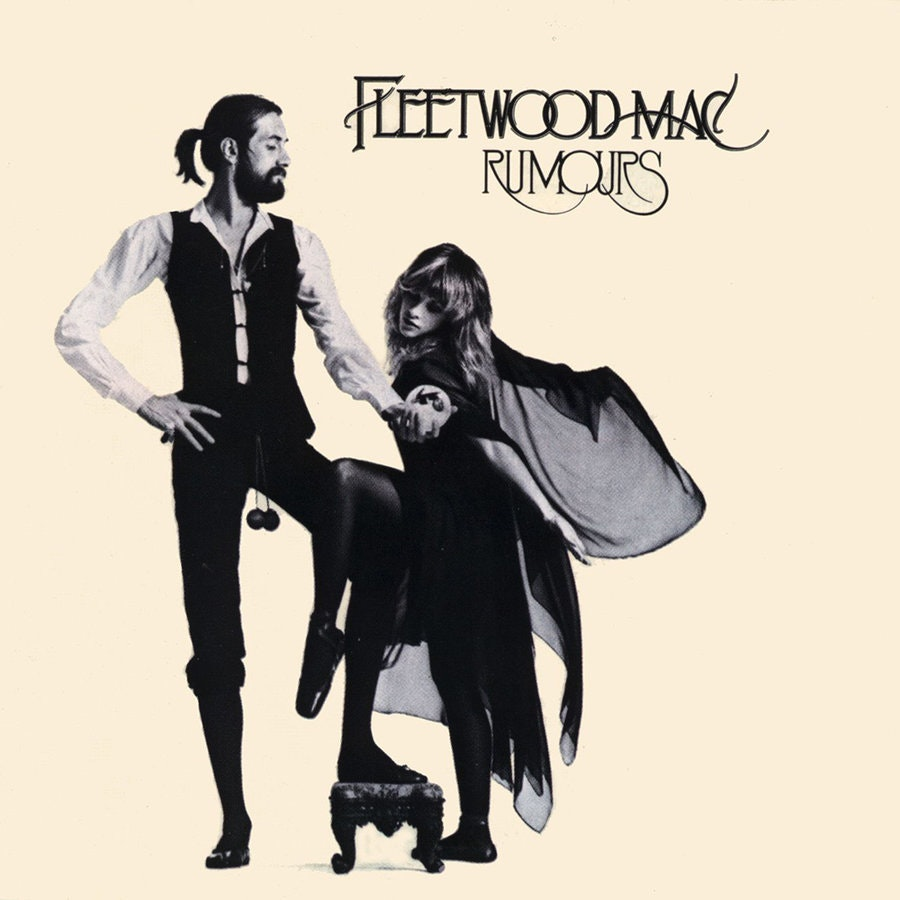 Fleetwood Mac's iconic Rumours cover