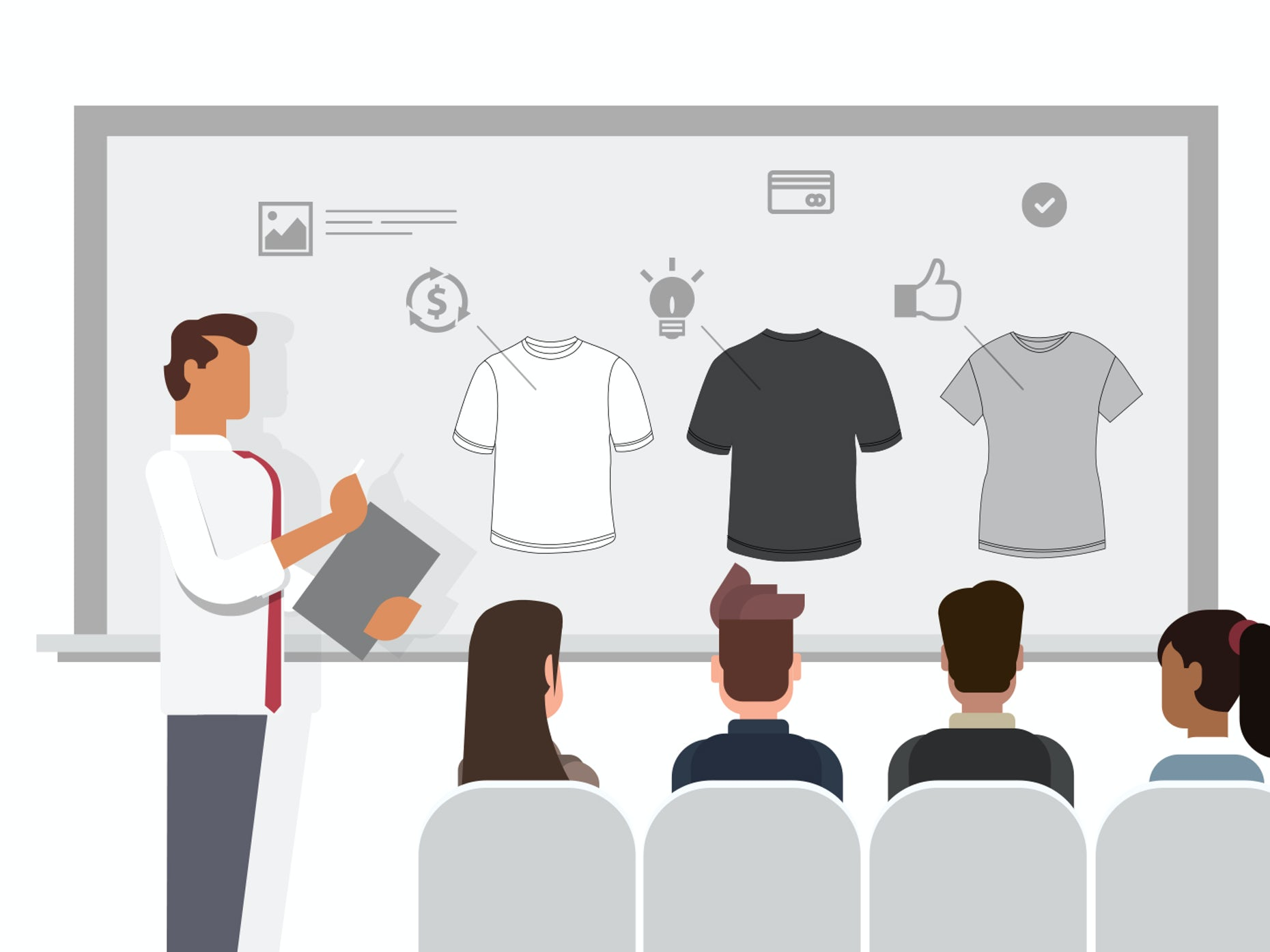 How to design an awesome company t-shirt for your business - 99designs