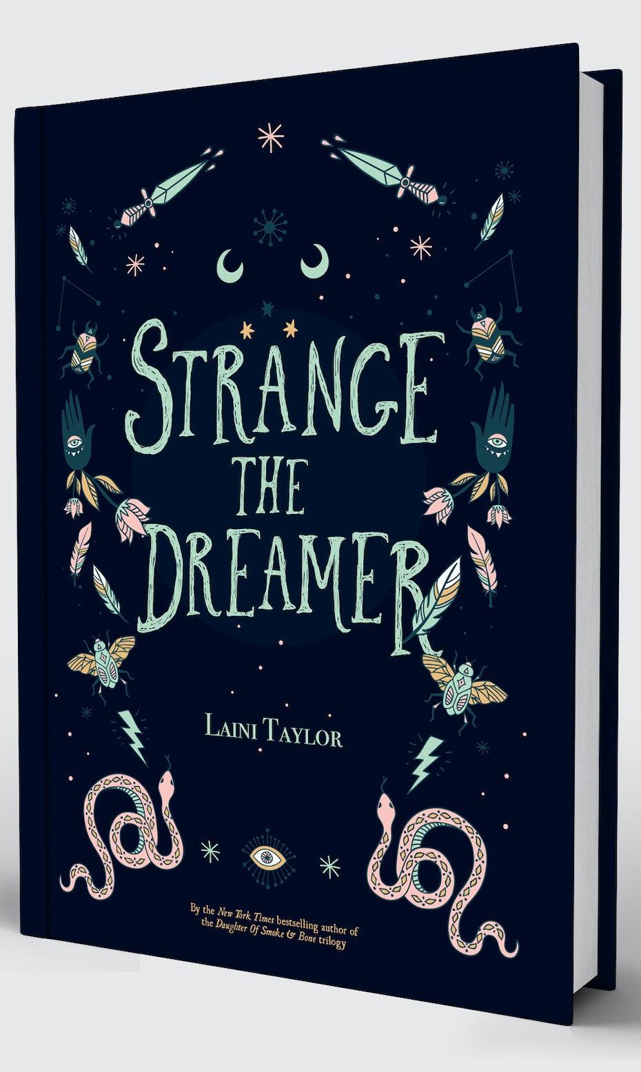 Strange the Dreamer Cover Redesigned