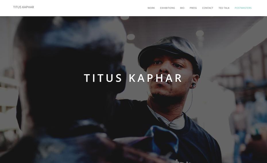 Titus Kaphar website