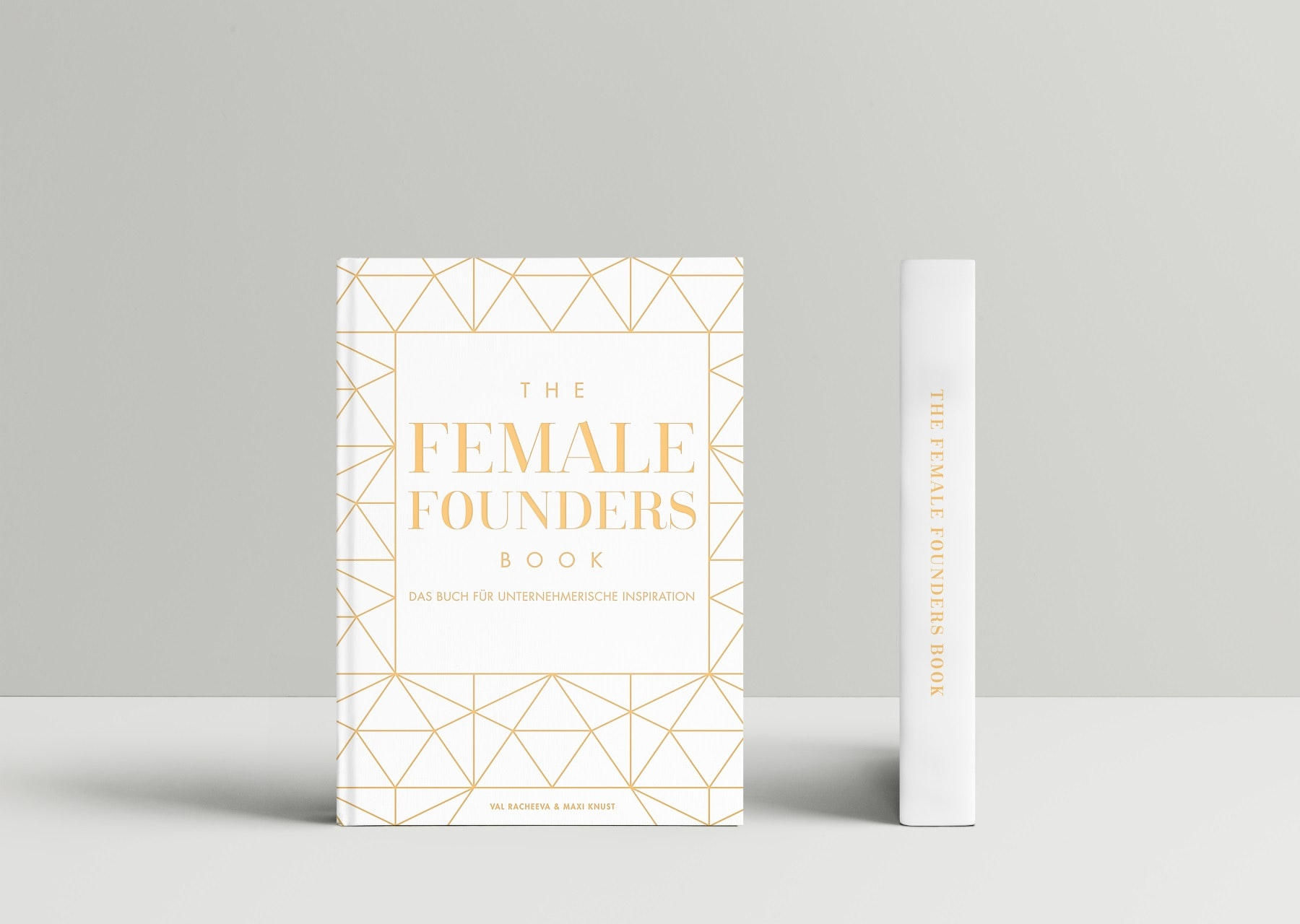 Buchcover von The Female Founders Book