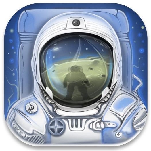 astronaut game app icon