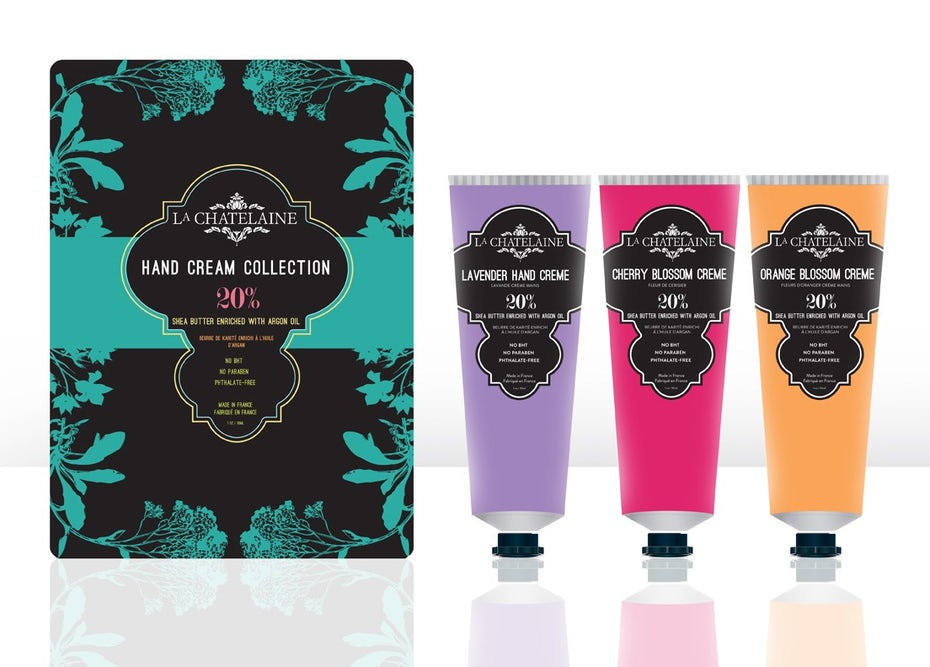 Multi-color hand creams