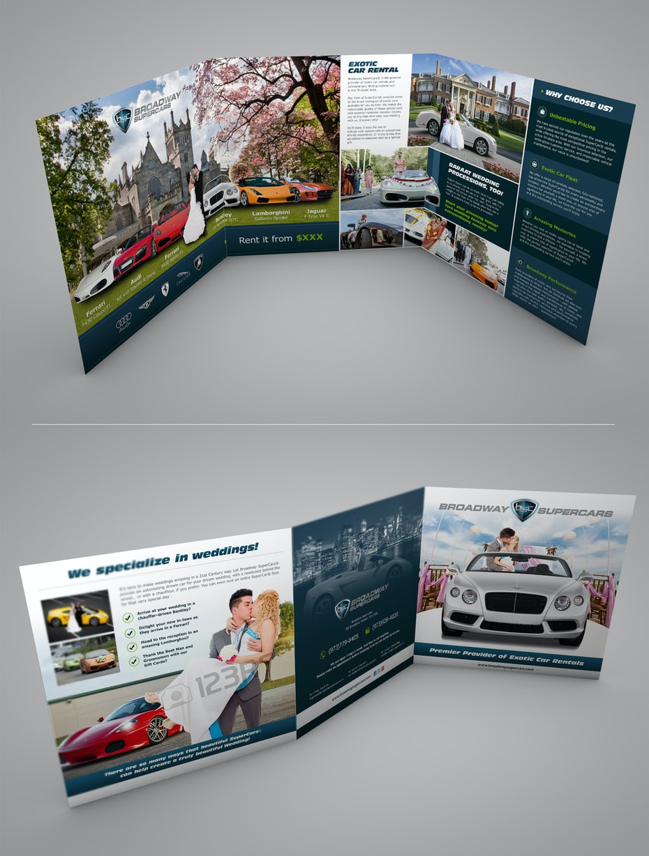 99 flyer design ideas that will give you wings 99designs flyer for exotic cars for weddings fandeluxe Images