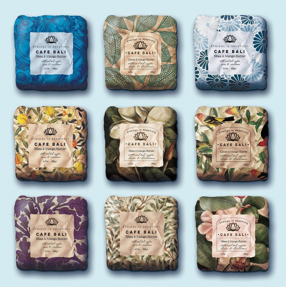 Soap packaging