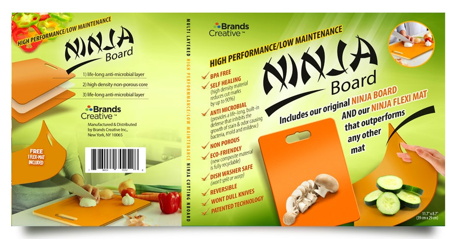 Flyer for Ninja chopping board