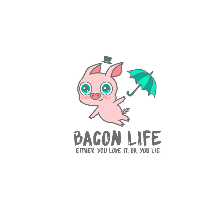 Bacon life logo