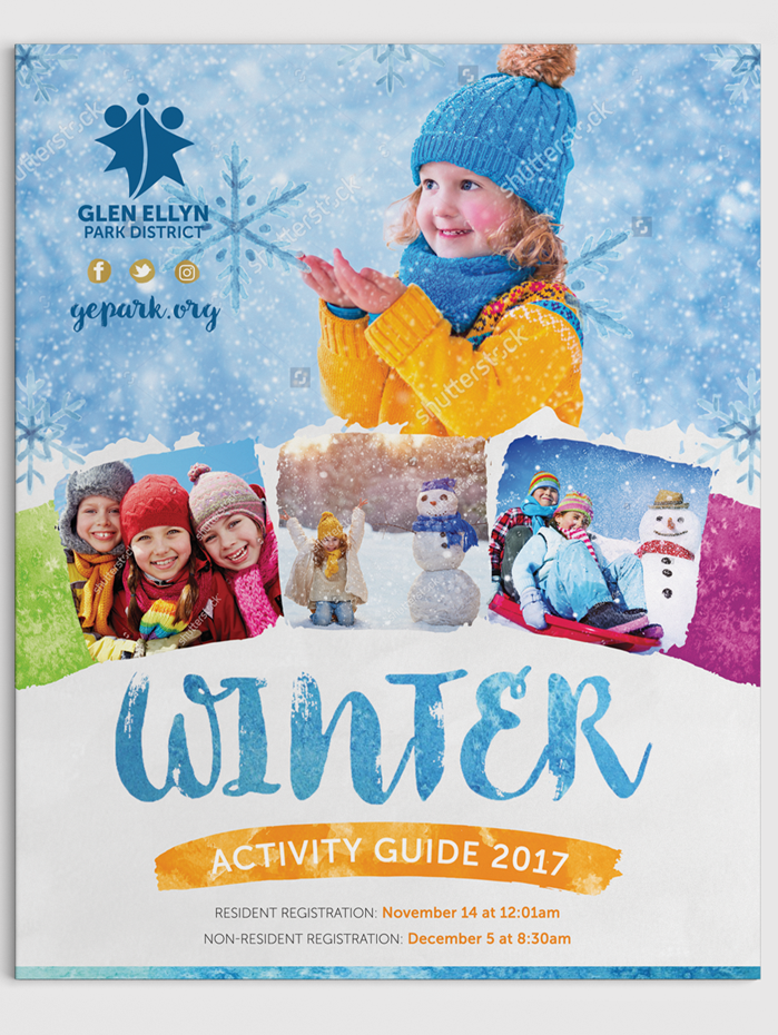Winter Activity Guide 2017 flyer