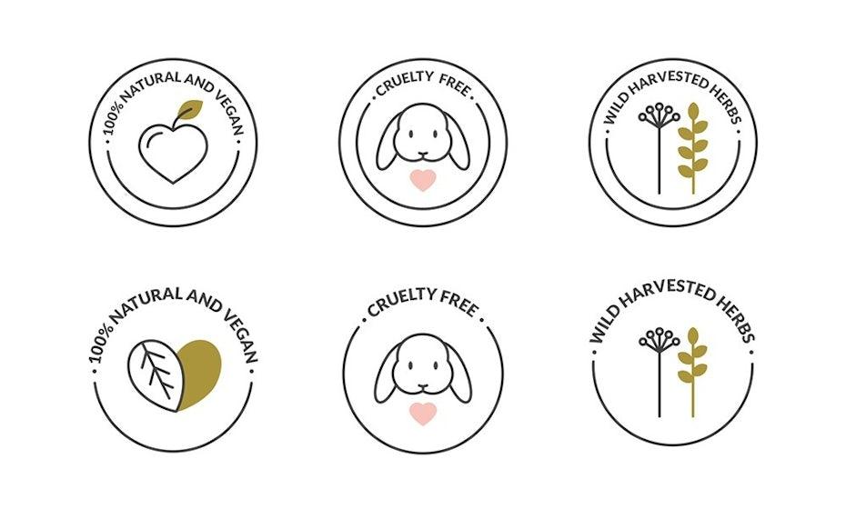 Cruelty free icons