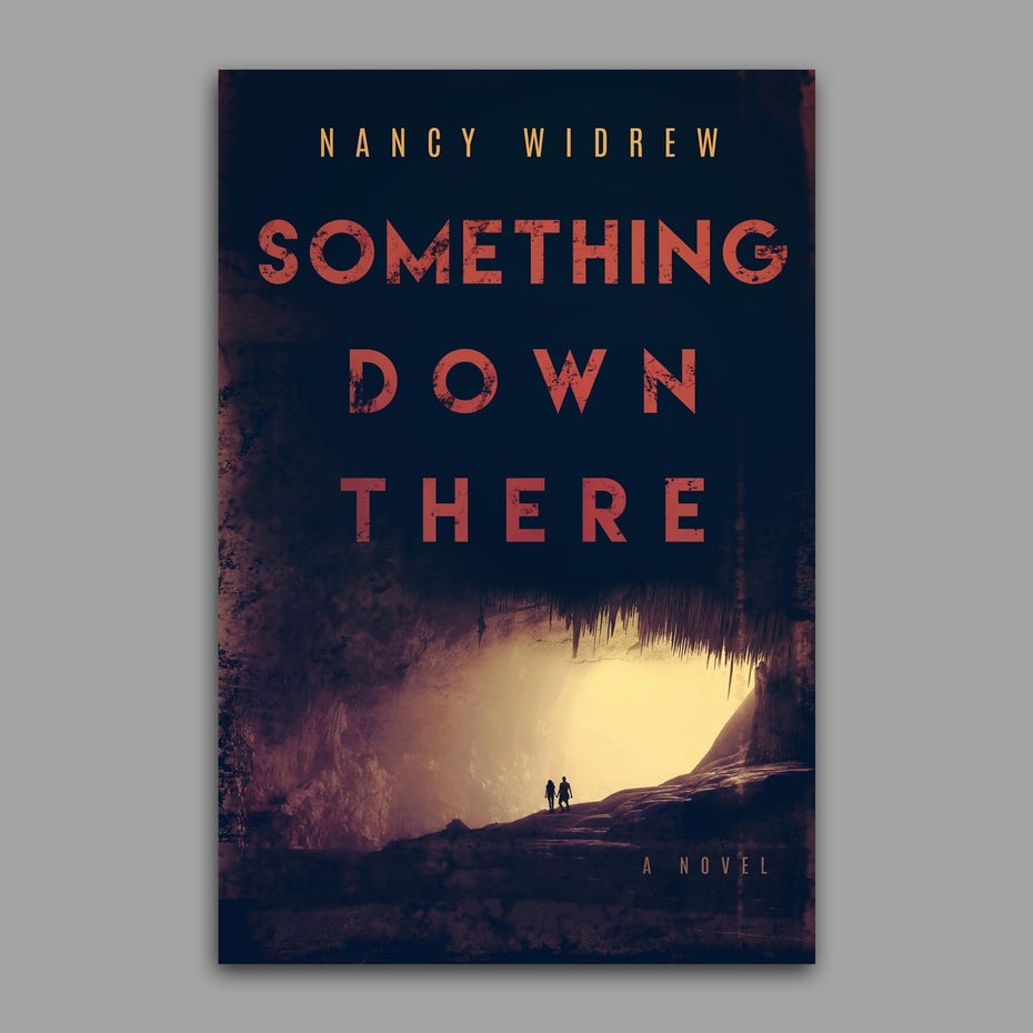 A creepy horror cover for Something Down There