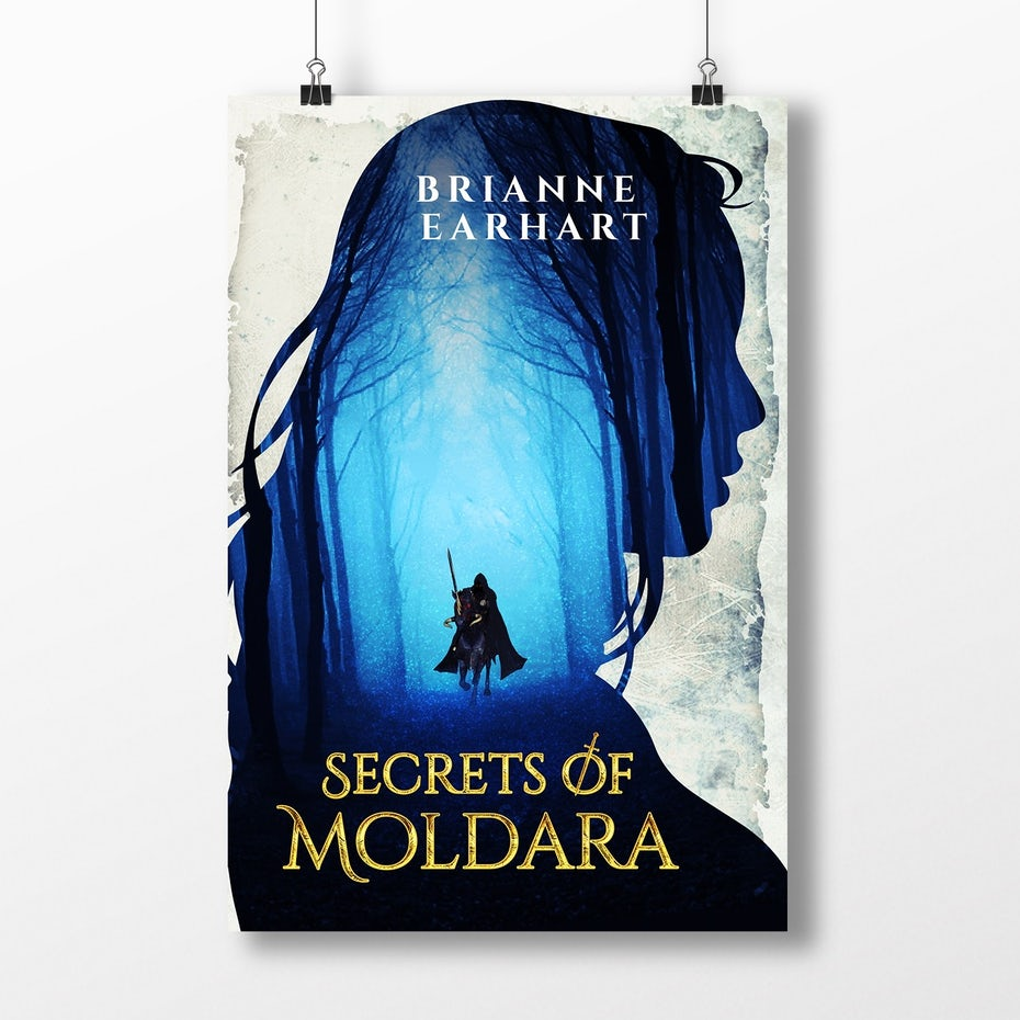 A modern cover for Secrets of Moldara