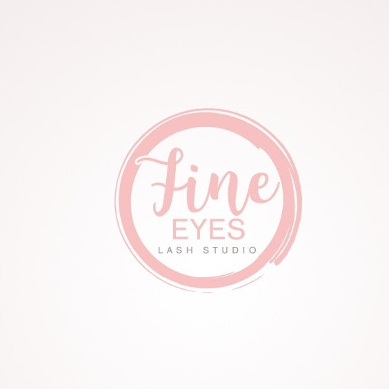 Classy and elegant logo for lash extension artist