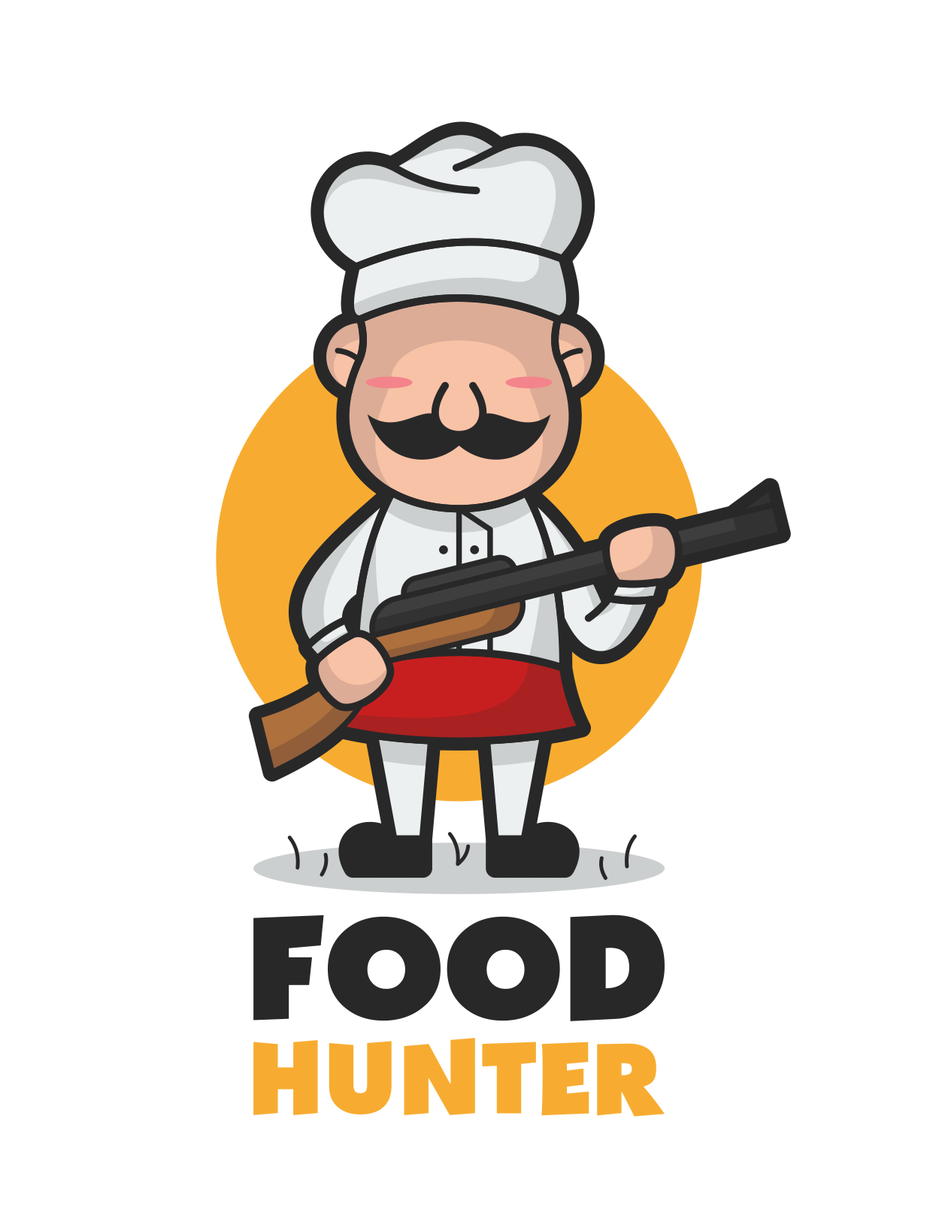 Food hunter logo