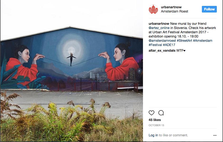 urbanartnow Instagram