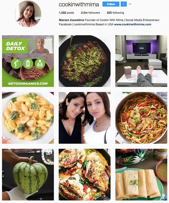 Mariam Ezzeddine Instagram