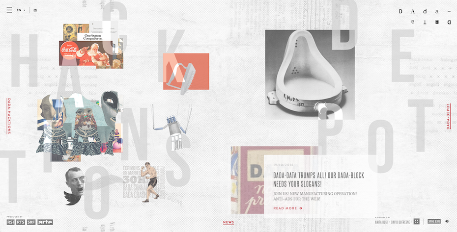 The header image of dada-data's home page