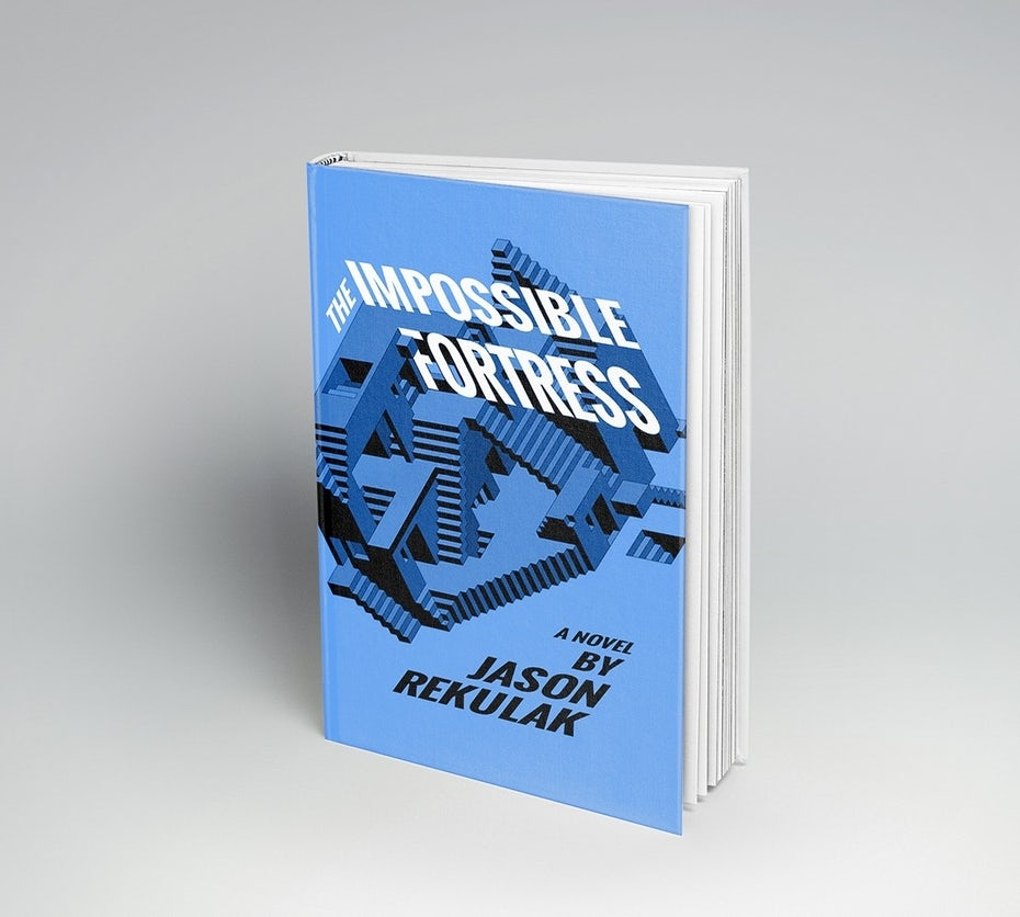 """The Impossible Fortress: A Novel"" redesigned"