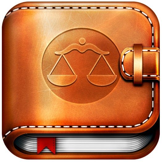 leather legal app icon