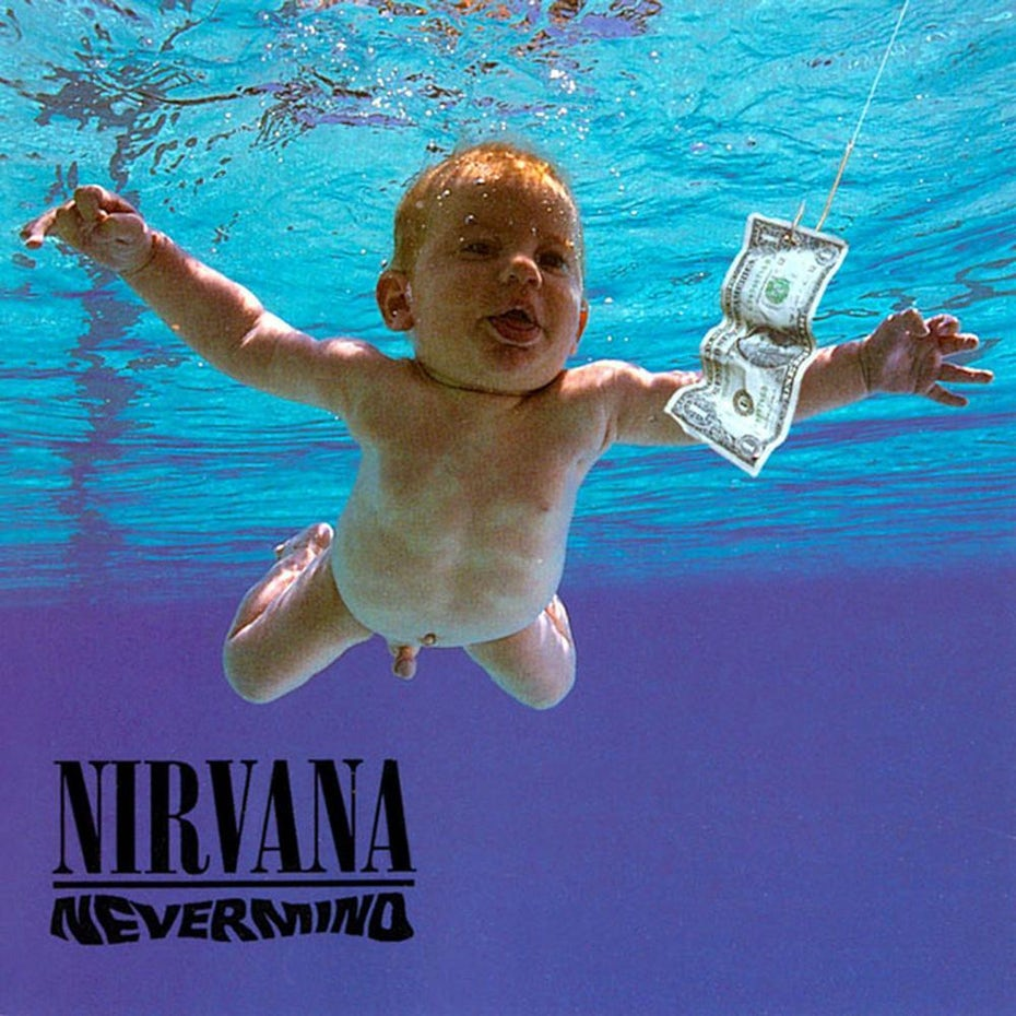Nirvana's Nevermind cover