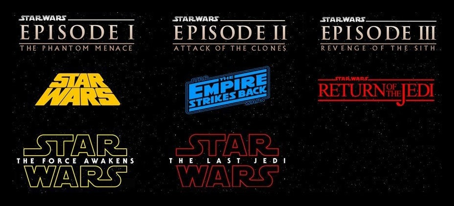 all logos and posters via lucasfilm
