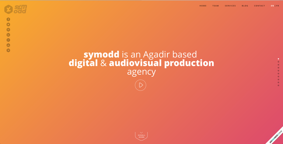 The header image of symodd's home page