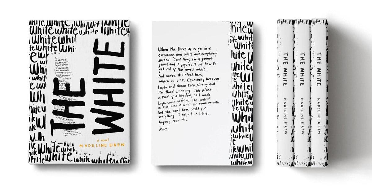 typographic book cover
