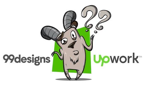 99designs vs. Upwork: Welches ist die beste Wahl für Grafikdesign?