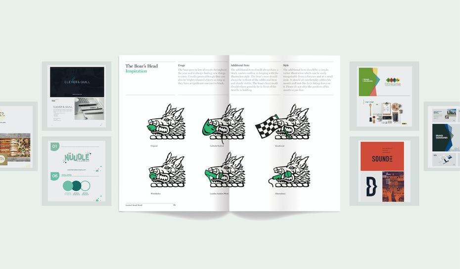 30 exemples de guide de marque pour vous inspirer