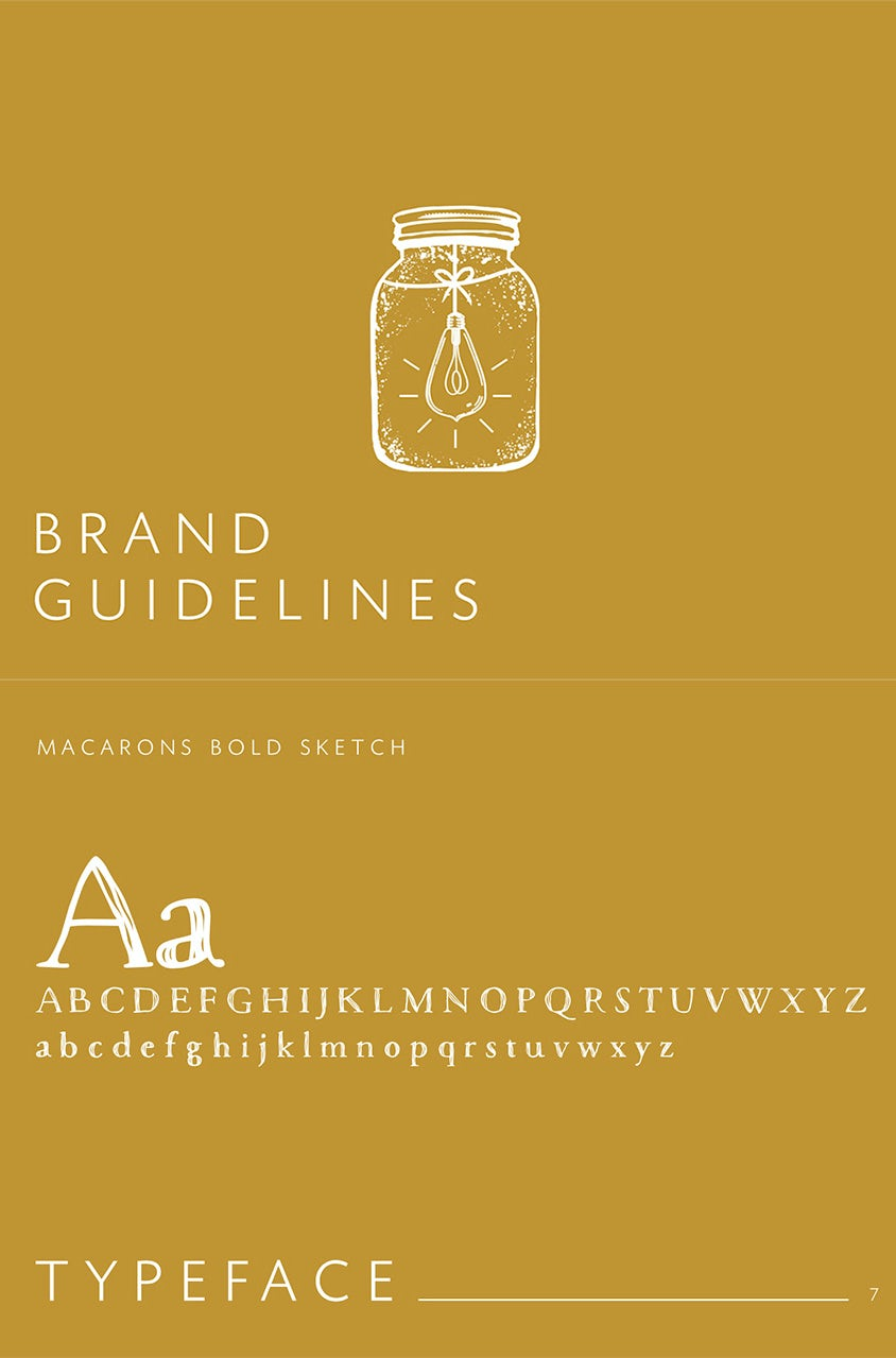 FRUGALLY SUSTAINABLE brand style guide