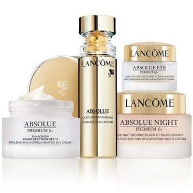 Lancome skincare