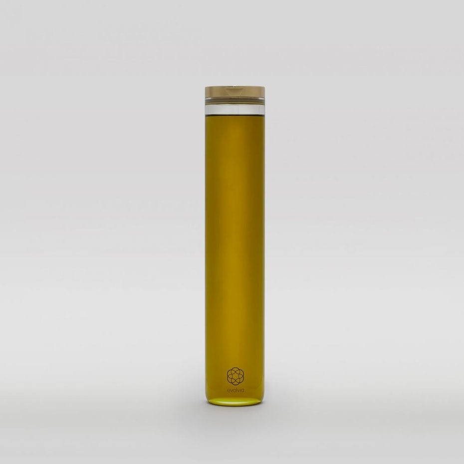 Minimalist olive oil design