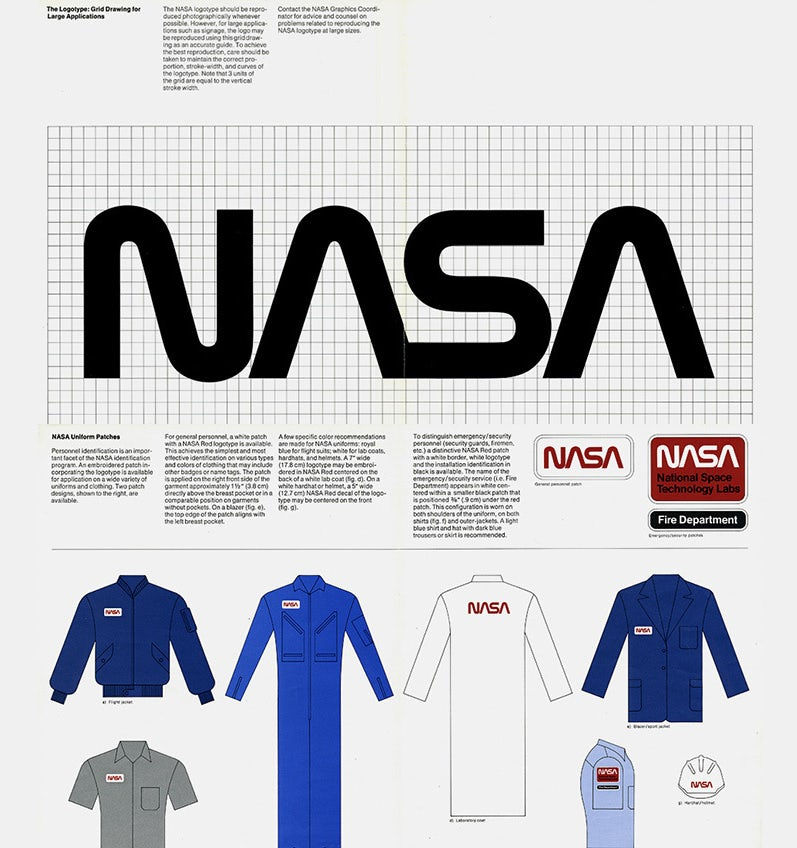 NASA brand style guide