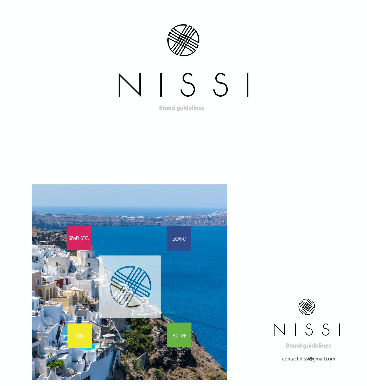 NISSI brand style guide