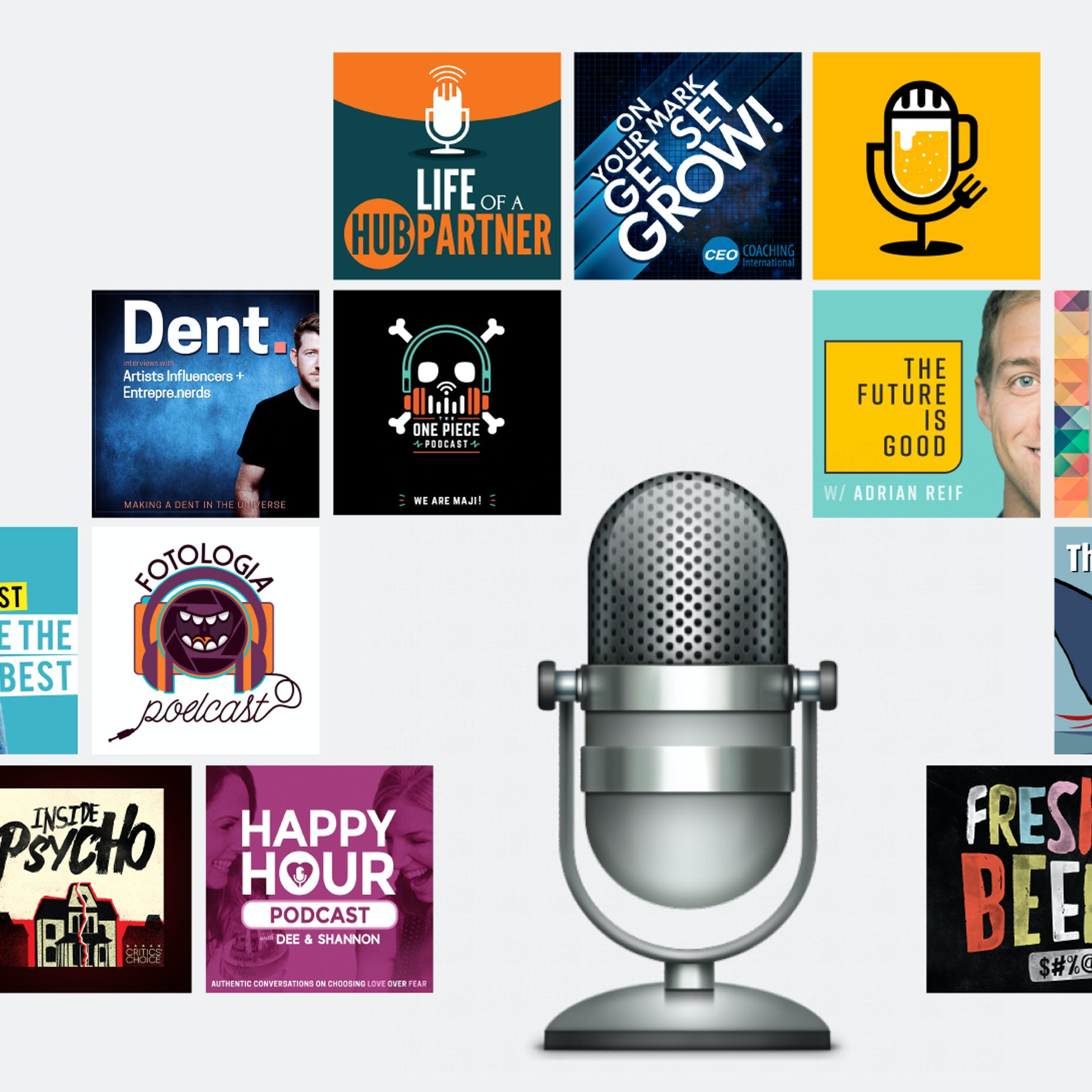 How to design a podcast cover: the ultimate guide - 99designs