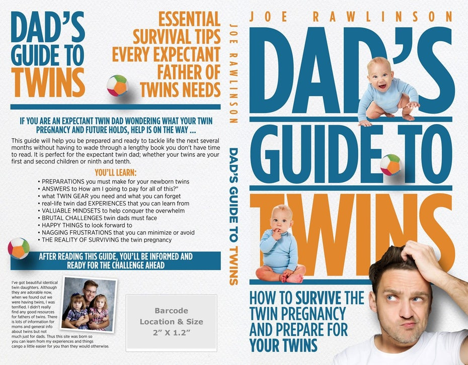 Dad's Guide to Twins book cover